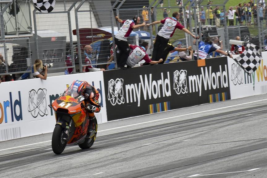 Brad Binder, Red Bull KTM Ajo, myWorld Motorrad Grand Prix von Österreich