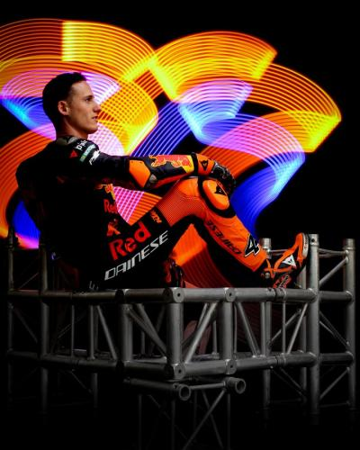 @polespargaro is ready to rock it in KTM's home GP