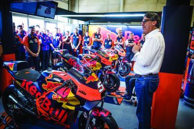 Grandes cambios de KTM en MotoGP™ a partir de 2020