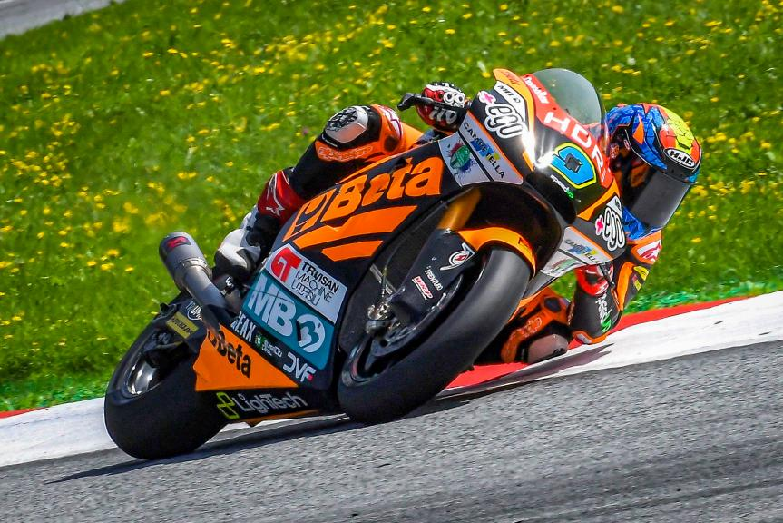 Jorge Navarro, Beta Tools Speed Up, Spielberg Moto2™-Moto3™ Test