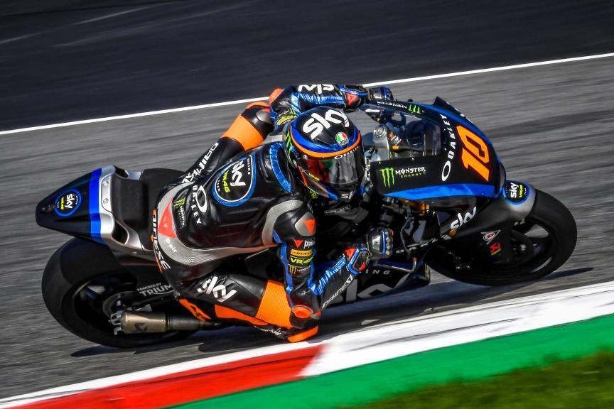 Luca Marini, Sky Racing Team VR46, Spielberg Moto2™-Moto3™ Test