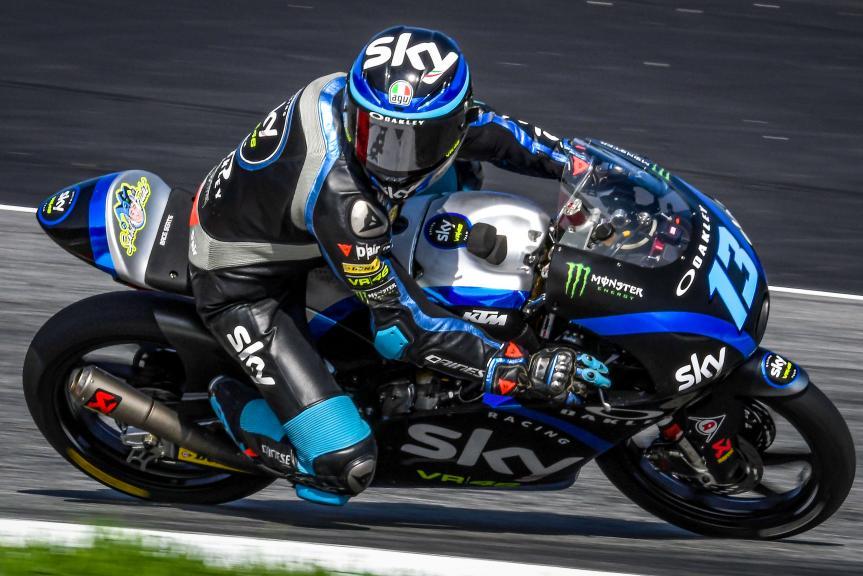 Celestino Vietti, Sky Racing Team VR46, Spielberg Moto2™-Moto3™