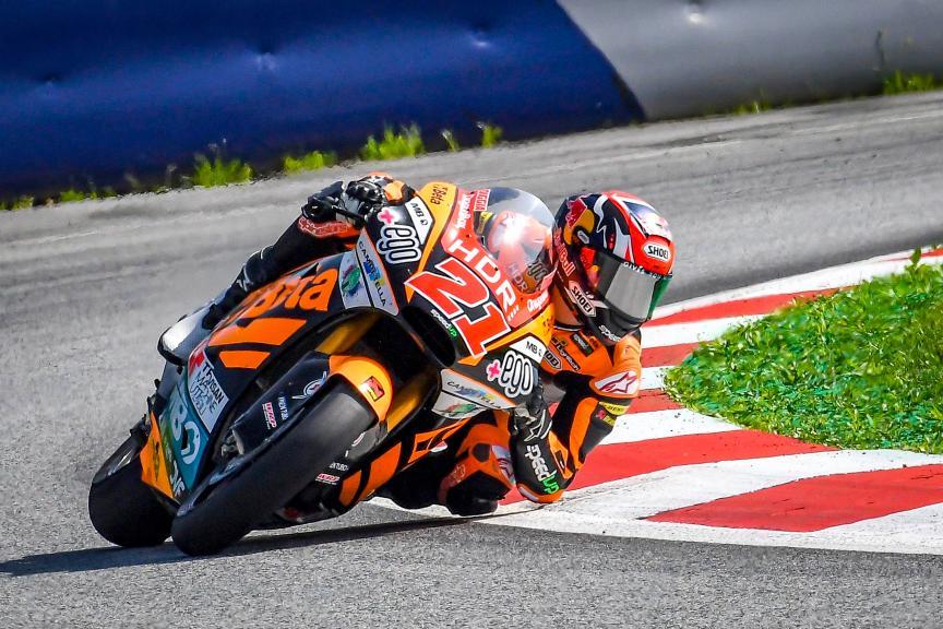 Fabio Di Giannantonio, Beta Tools Speed Up, Spielberg Moto2™-Moto3™ Test
