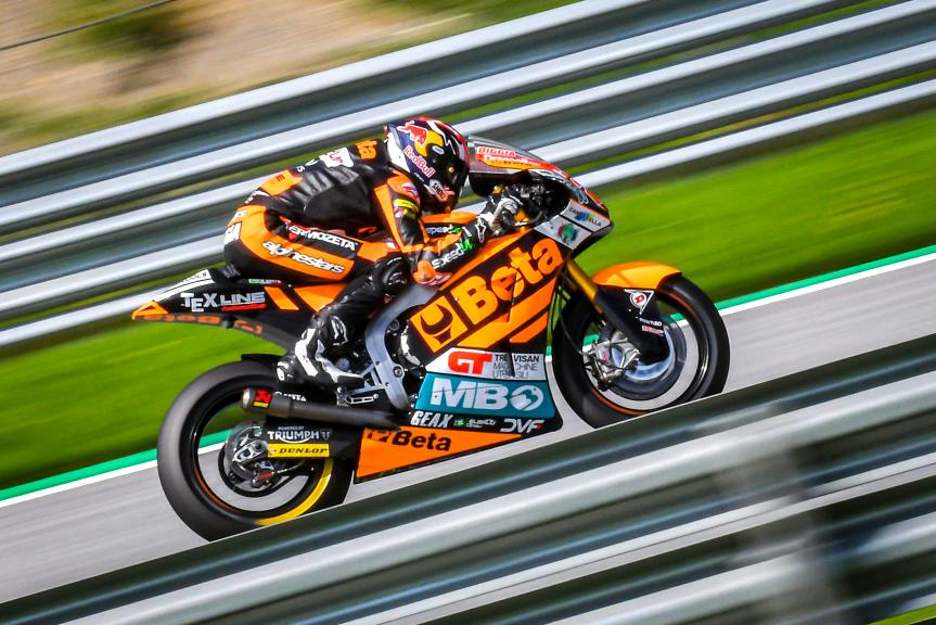 Fabio Di Giannantonio, Beta Tools Speed Up, Spielberg Moto2™-Moto3™ Test