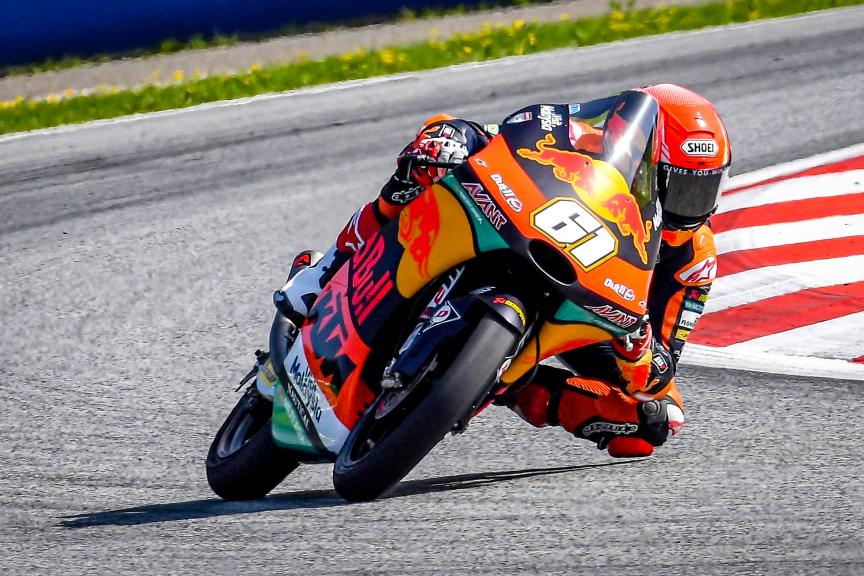 Can Oncu, Red Bull KTM Ajo, Spielberg Moto2™-Moto3™ Test