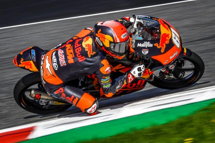 Can Oncu, Red Bull KTM Ajo, Spielberg Moto2™-Moto3™ Test