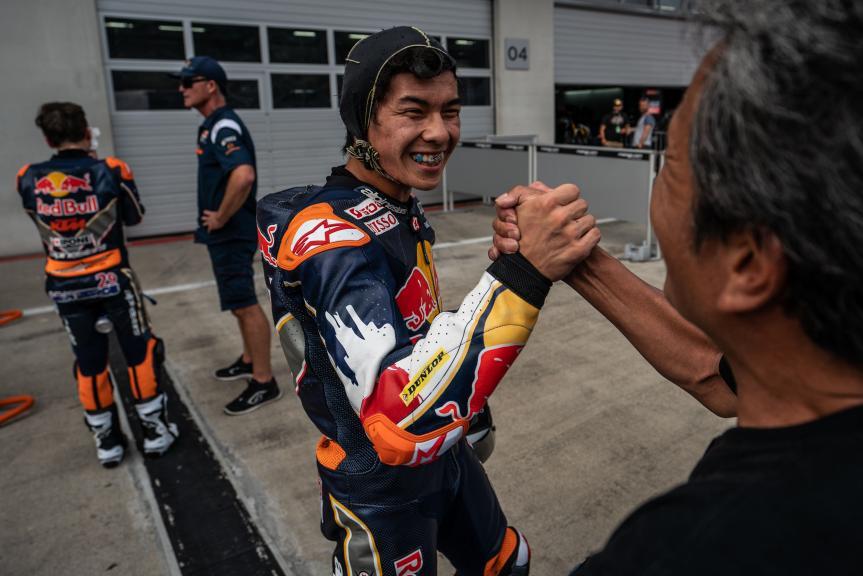 Haruki Noguchi, Red Bull Rookies Cup