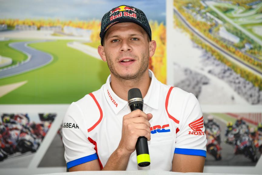 Stefan Bradl, Press-Conference, Finland MotoGP™ Test