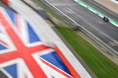 Circuit setup: Teams get set for Silverstone