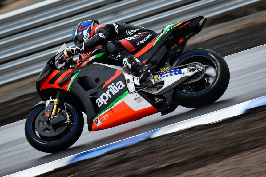 Bradley Smith, Aprilia Racing Team, Finland MotoGP™ Test