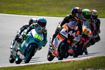 Moot point? The Moto3™ duel lands in the UK