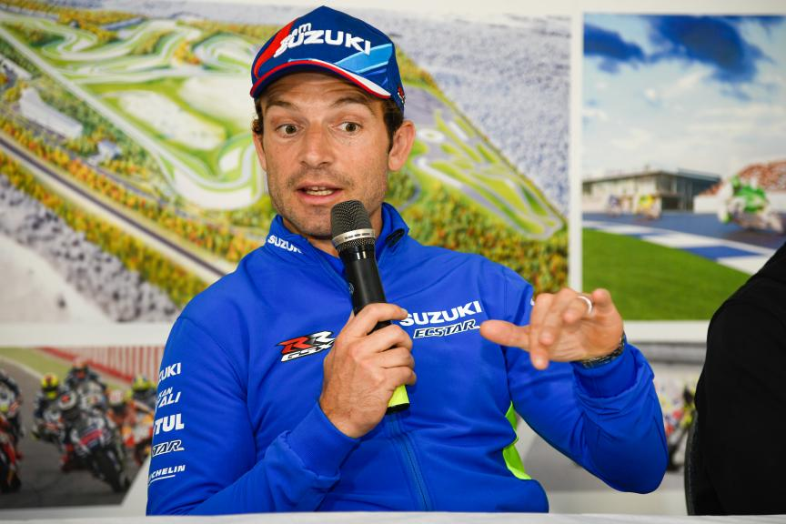 Sylvain Guintoli, Press-Conference, Finland MotoGP™ Test