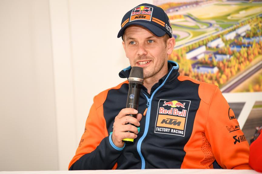 Mika Kallio, Press-Conference, Finland MotoGP™ Test