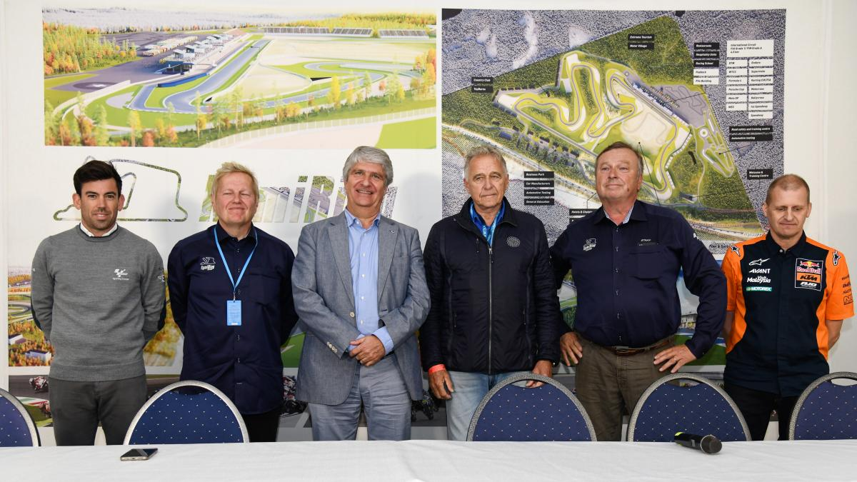 """It's a dream come true"" – MotoGP™ authorities on KymiRing"