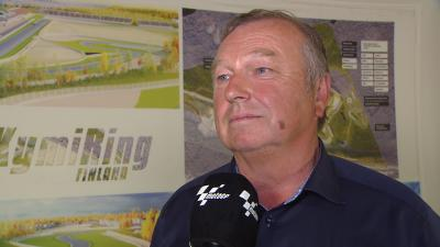 """We're now on the way to the FinnishGP"" - KymiRing's Pohjola"
