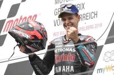 Quartararo peut-il rêver d'un nouveau podium à Silverstone ?