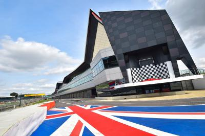 Four front, rear slick tyre options selected for Silverstone