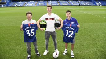Off-Track: MotoGP™ & Chelsea stars meet at Stamford Bridge