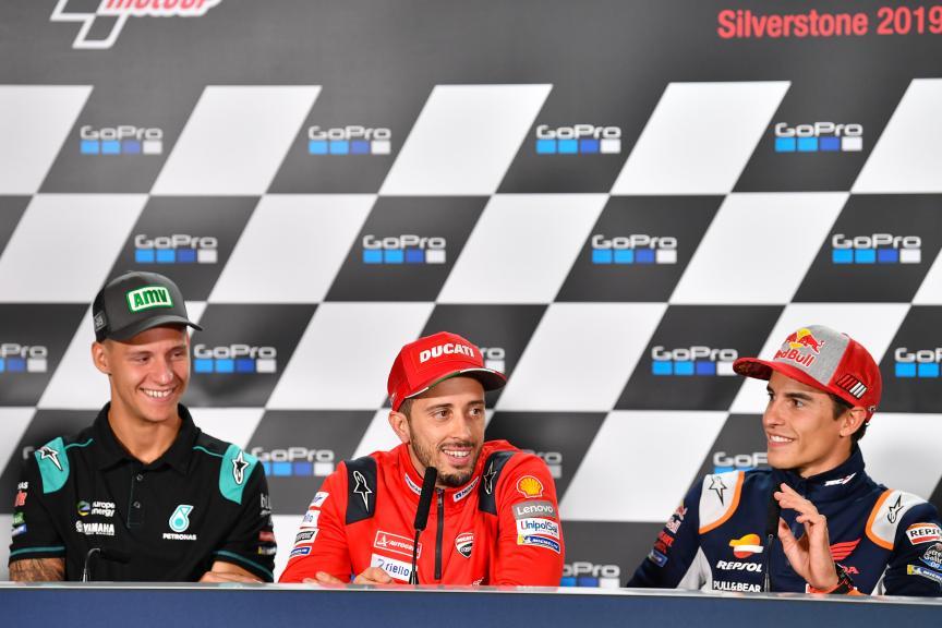 Press-Conference, GoPro British Grand Prix