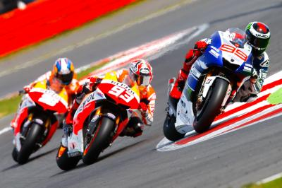 FREE: The full Lorenzo vs Marquez 2013 British GP classic