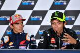 Valentino Rossi, Marc Marquez, GoPro British Grand Prix
