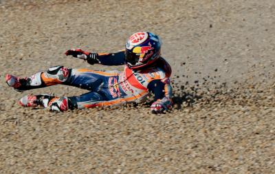 How does a rider overcome a race injury?