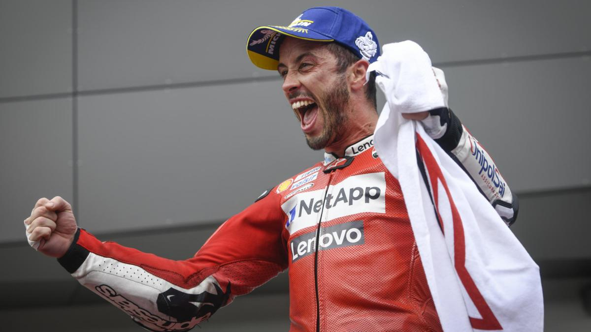 """""""Nothing gives you more confidence than a win"""" - Dovizioso"""