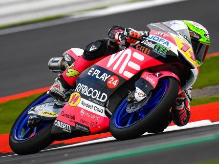 Moto3, Free Practice, GoPro British Grand Prix