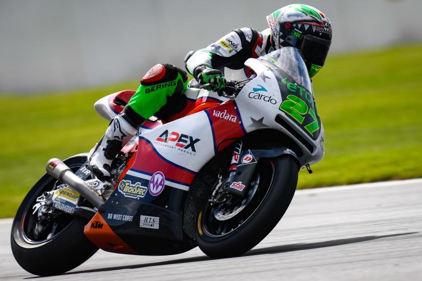 Iker Lecuona, American Racing KTM, GoPro British Grand Prix