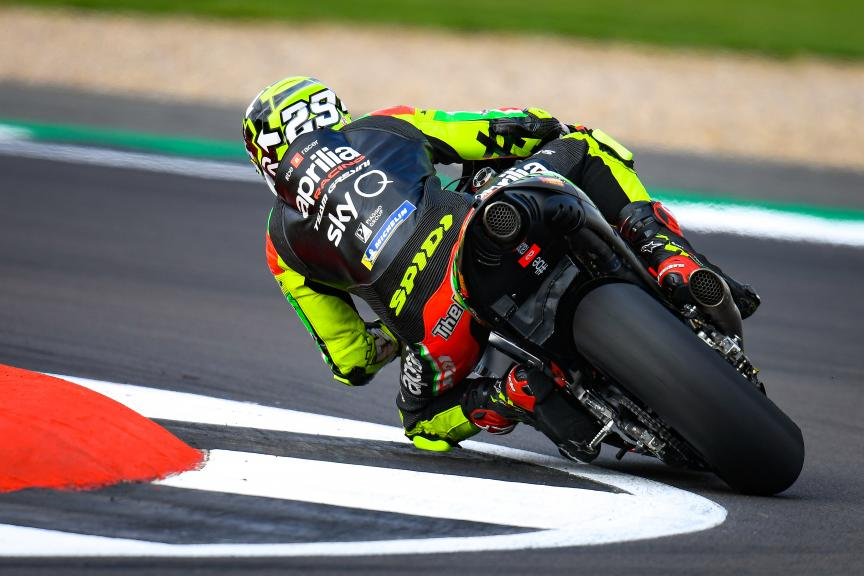 Andrea Iannone, Aprilia Racing Team Gresini, GoPro British Grand Prix