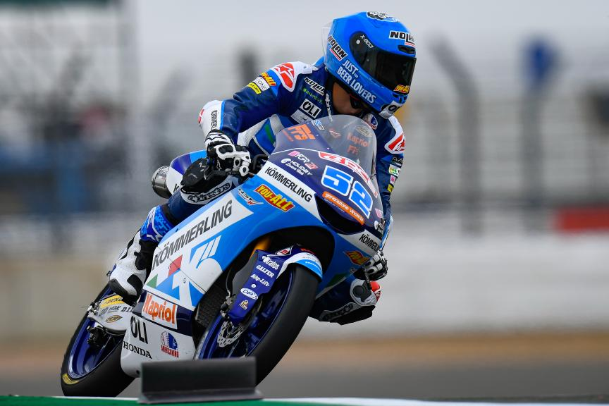 Jeremy Alcoba, Kőmmerling Gresini Moto3, GoPro British Grand Prix