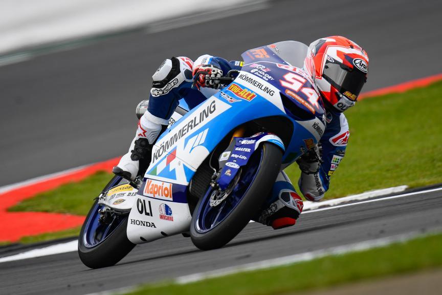 Riccardo Rossi, Kőmmerling Gresini Moto3, GoPro British Grand Prix