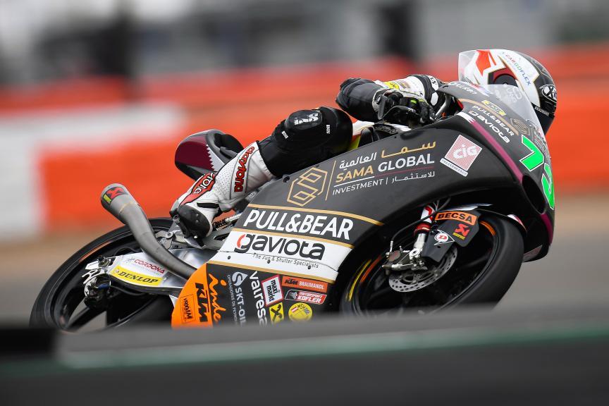 Maximilian Kofler, Sama Qatar Angel Nieto Team, GoPro British Grand Prix