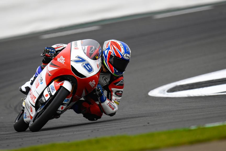 Ai Ogura, Honda Team Asia, GoPro British Grand Prix