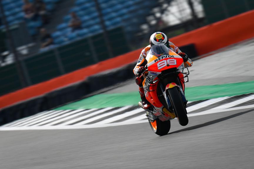 Jorge Lorenzo, Repsol Honda Team, GoPro British Grand Prix