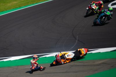¿Cómo ha vivido Márquez su primera caída desde Le Mans?