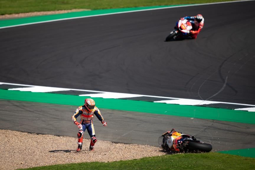 Marc Marquez, Repsol Honda Team, GoPro British Grand Prix © Alex Farinelli