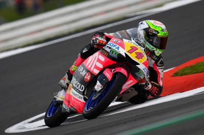 Arbolino breaks lap record in FP1