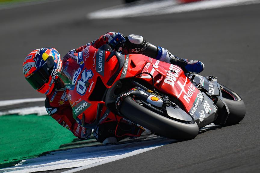 Andrea Dovizioso, Ducati Team, GoPro British Grand Prix
