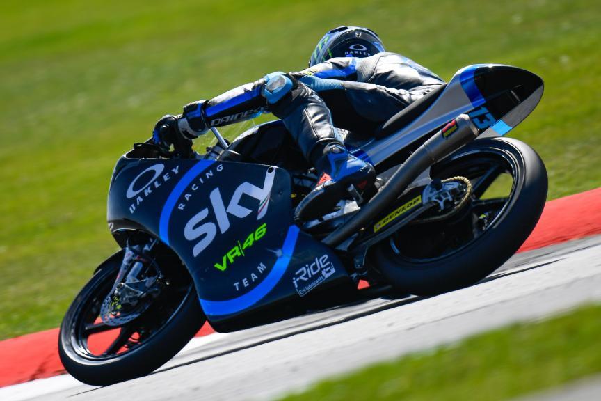 Celestino Vietti, Sky Racing Team VR46, GoPro British Grand Prix