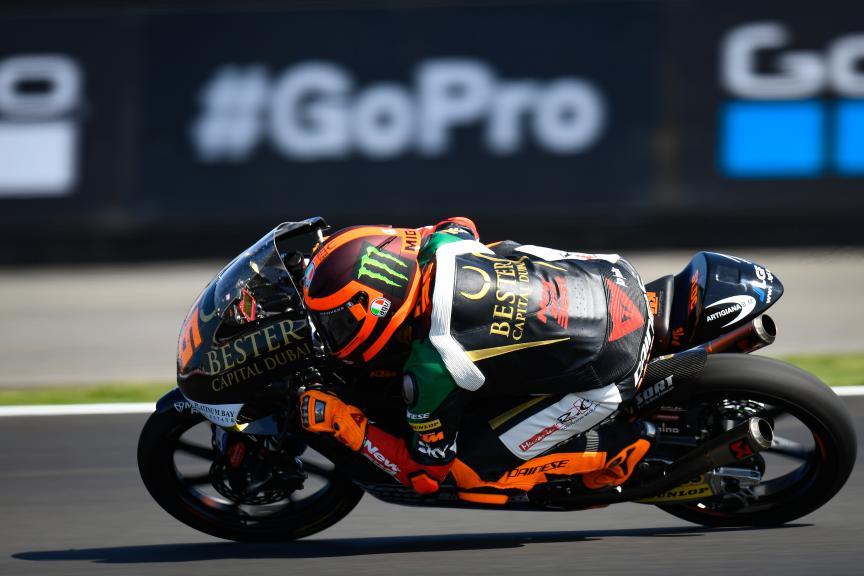 Andrea Migno, Bester Capital Dubai, GoPro British Grand Prix
