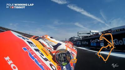 OnBoard: La vuelta de la 'pole' de Márquez en Silverstone