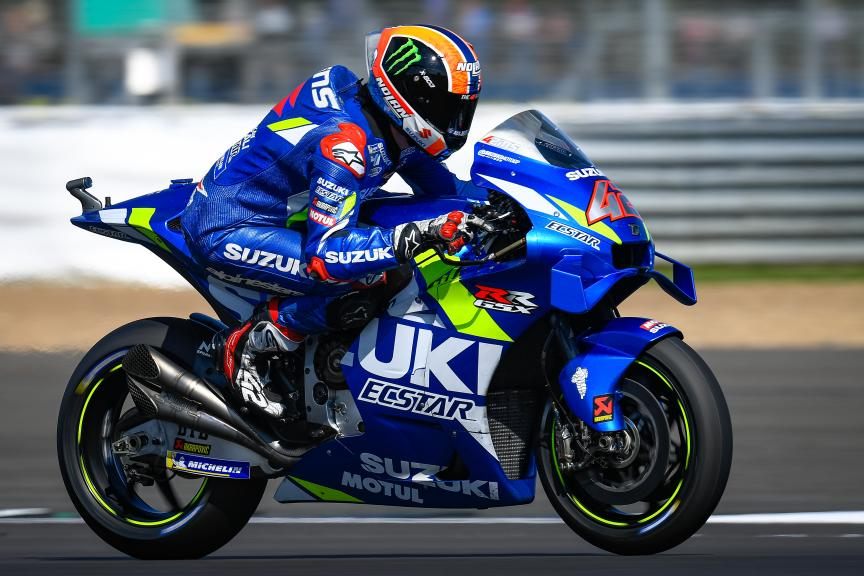 Alex Rins, Team Suzuki Ecstar, GoPro British Grand Prix