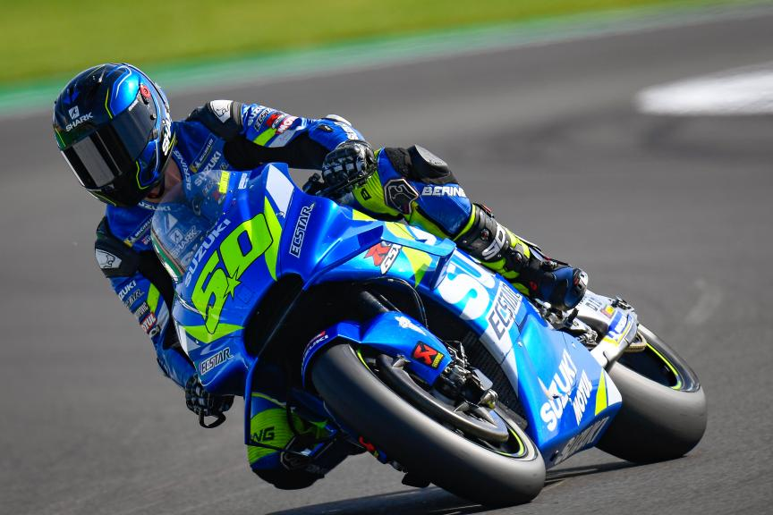 Sylvain Guintoli, Suzuki Test Team, GoPro British Grand Prix
