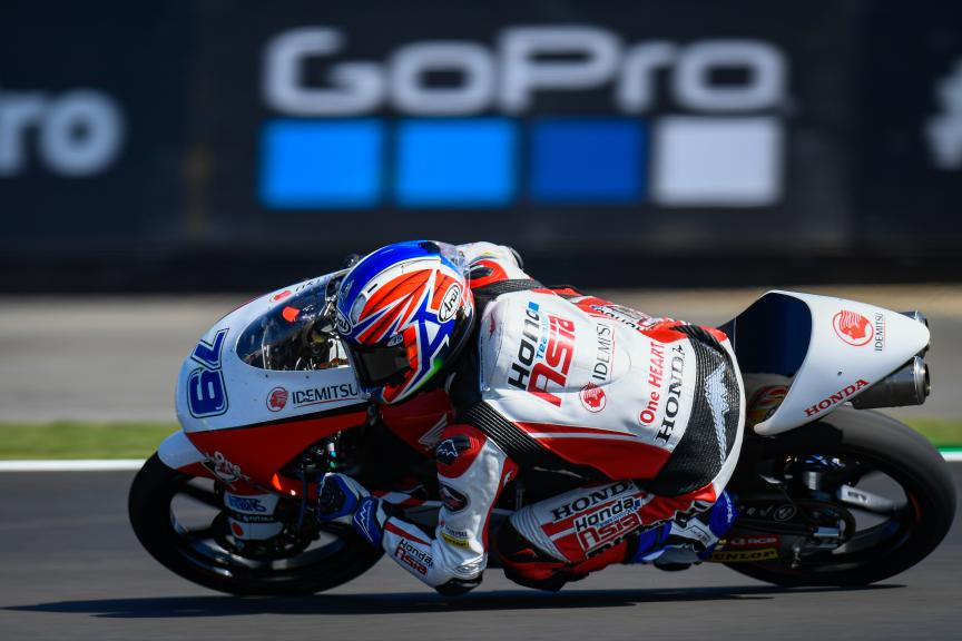 Ai Ogura, Honda Team Asia, GoPro British Grand Prix