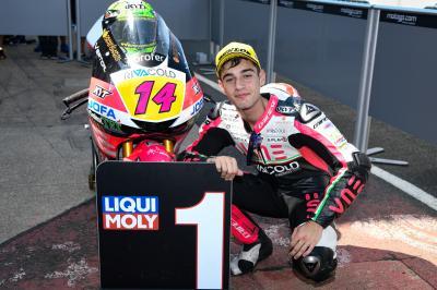 Taktische Meisterleistung verhilft Arbolino zur Moto3™-Pole