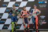 Marc Marquez, Valentino Rossi, Jack Miller, GoPro British Grand Prix