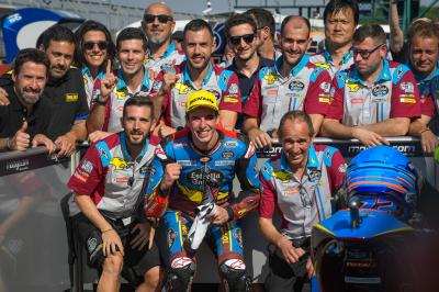 Marquez edges out Navarro for Moto2™ pole