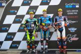 Alex Marquez, Jorge Navarro, Augusto Fernandez, GoPro British Grand Prix