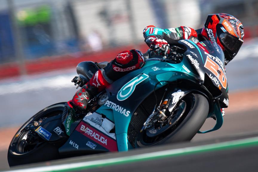 Fabio Quartararo, Petronas Yamaha SRT, GoPro British Grand Prix